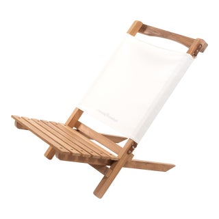 2 Piece Outdoor Chair - Antique White For Sale