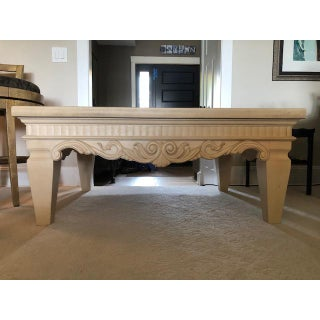Drexel Heritage Cream Wood Coffee Table Preview