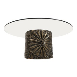 Mid-Century Modern Brutalist Coffee Table by Adrian Pearsall For Sale