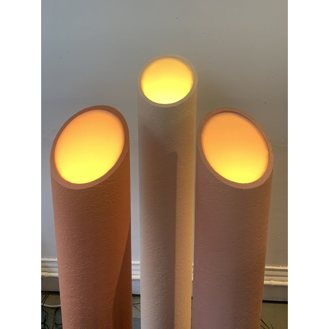 1980s Pink Memphis Floor Lamps - Set of 3 For Sale - Image 10 of 10