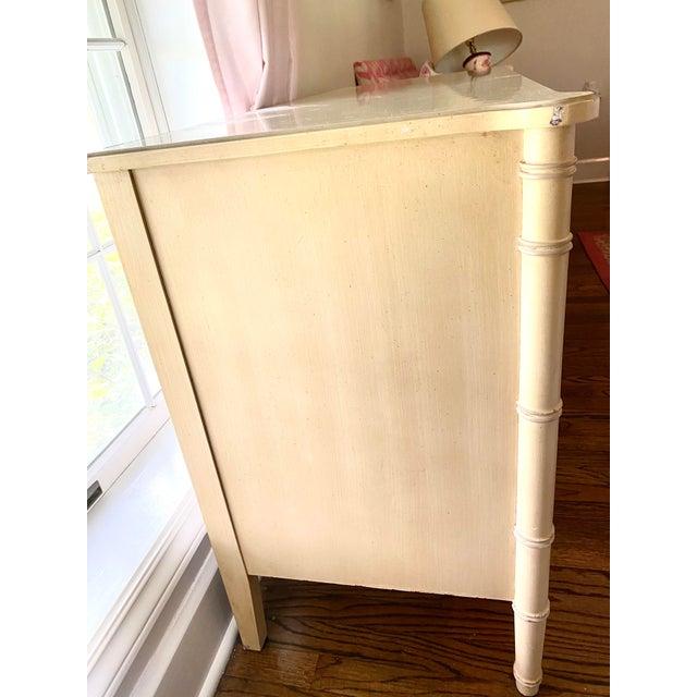 """Henry Link """"Bali Hai"""" Dresser & Mirror Set For Sale - Image 9 of 13"""