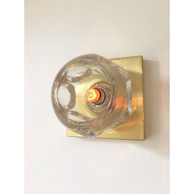 Sciolari Glass & Brass Sconce - Image 4 of 10