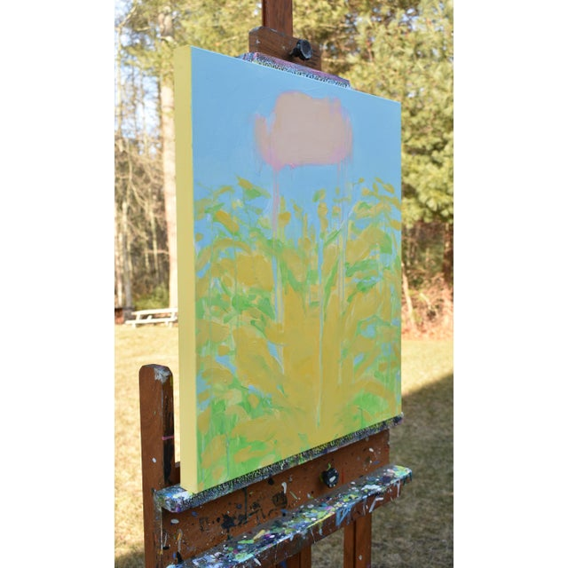 """Contemporary Abstract """"Keep on the Sunny Side"""" Painting by Stephen Remick For Sale - Image 9 of 11"""