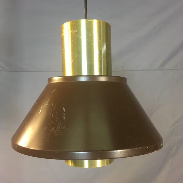 1960s Danish Fog & Morup Hanging Pendant Lamp For Sale - Image 9 of 9