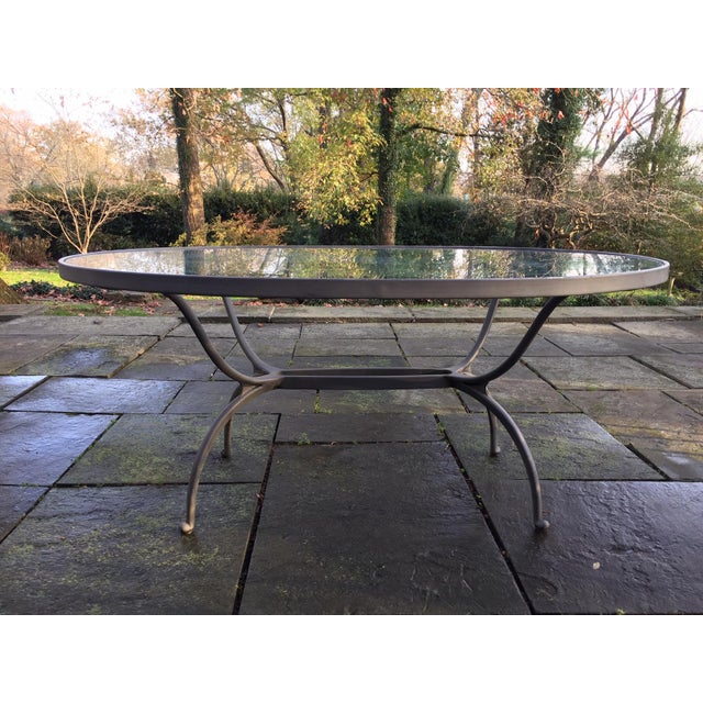 Silver 1960's Brown Jordan Patio Furniture-Set of 7 For Sale - Image 8 of 13