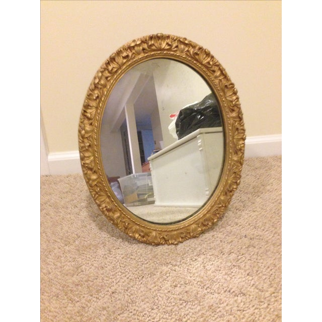 Gilded Oval Mirror - Image 3 of 4