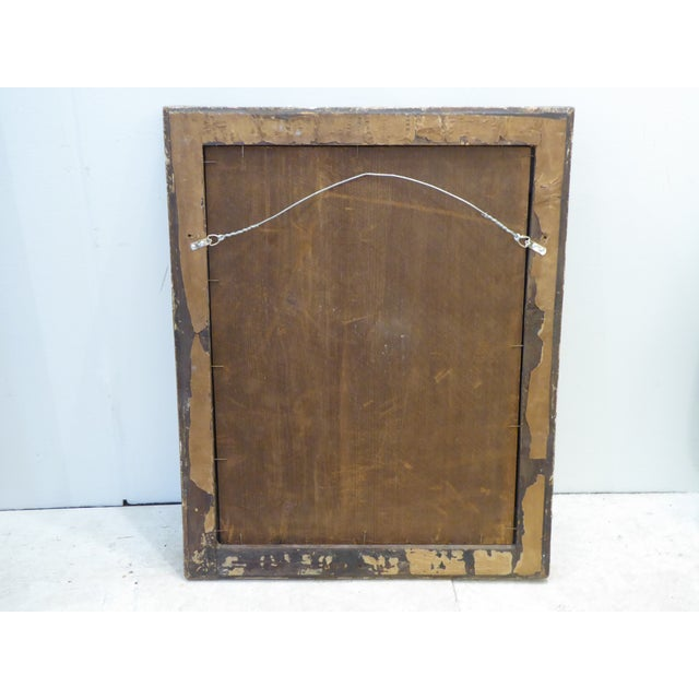 Italian 18th Century Italian Carved Giltwood Mirror For Sale - Image 3 of 4