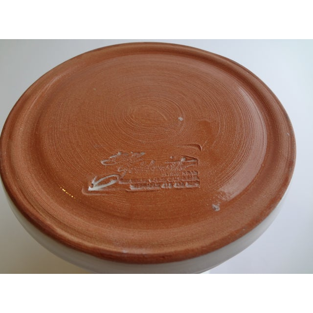Goldsmith Glazed White Ceramic Pitcher For Sale In Phoenix - Image 6 of 6