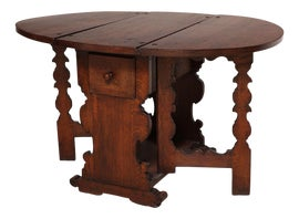Image of Wood Drop-Leaf and Pembroke Tables