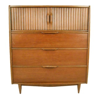 Vintage Modern Kent Coffey High Boy Dresser