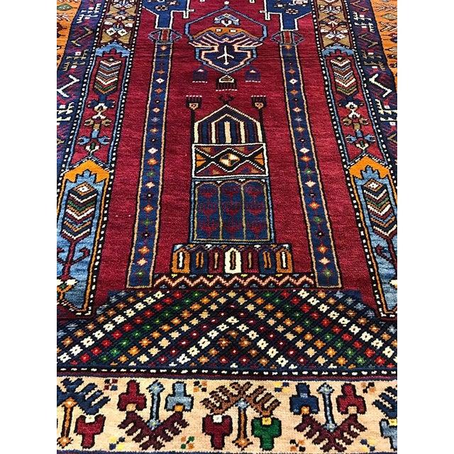 Turkish Vintage Yahyali Rug - 3'8'' x 7' - Image 3 of 6