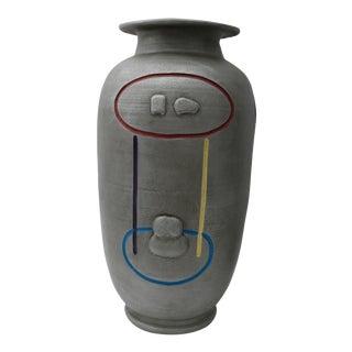 1980s Vintage American Pottery Vase