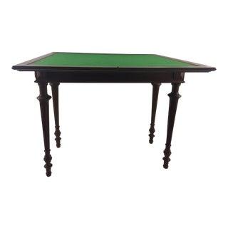 Napoleon II Mahogany Game Table