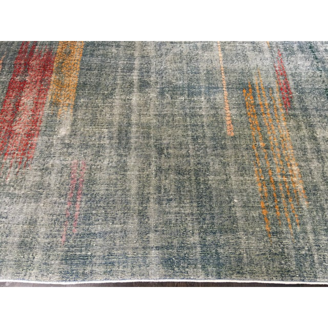 Zeki Muran Turkish Rug - 6′9″ × 8′9″ - Image 3 of 11