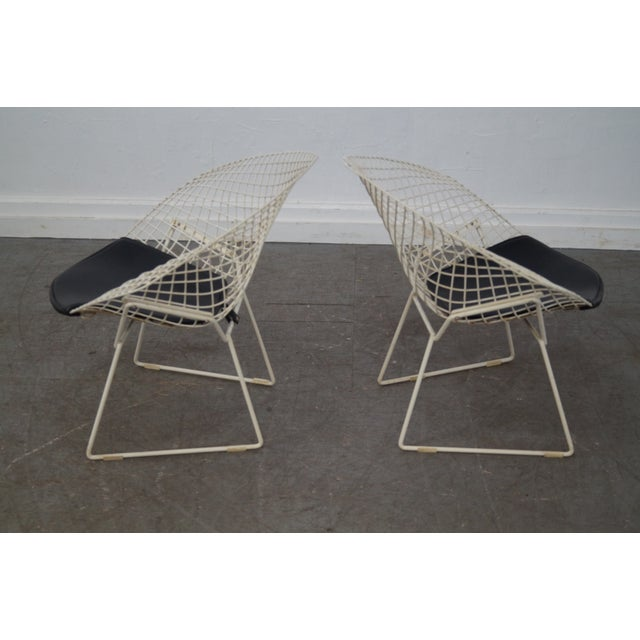 Harry Bertoia for Knoll Lounge Chairs - Pair - Image 4 of 10