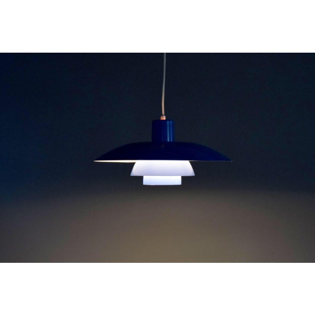 Danish Modern Vintage Poul Henningsen Ph 4/3 Pendant Light For Sale - Image 3 of 9