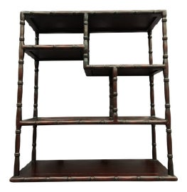 Image of Oxblood Red Shelving