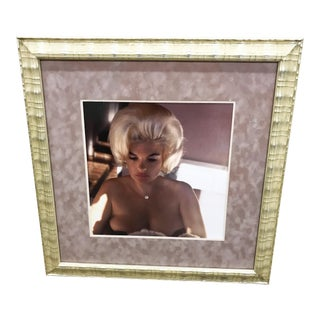 Original Professionally Framed Photo Of Jayne Mansfield For Sale