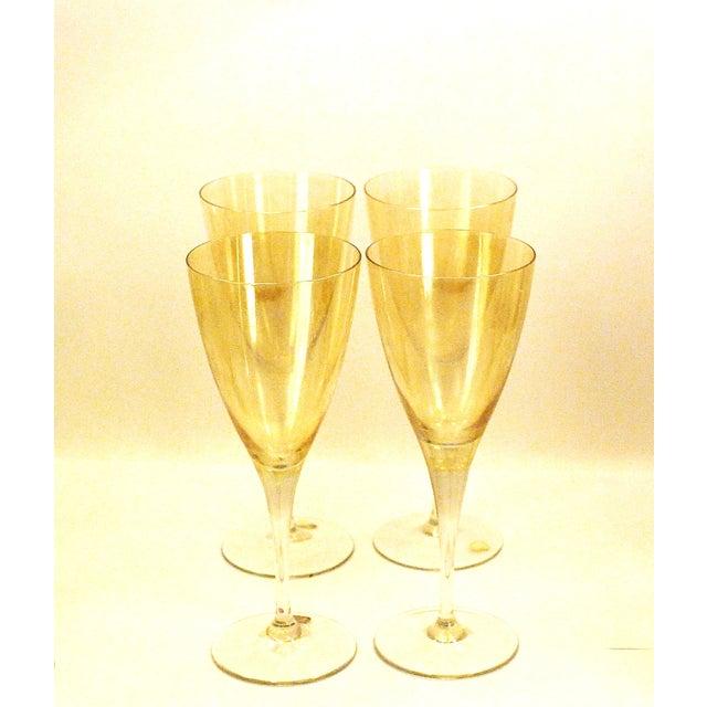 Bohemia Crystal Glassware Gold Iridescent - S/17 - Image 5 of 9