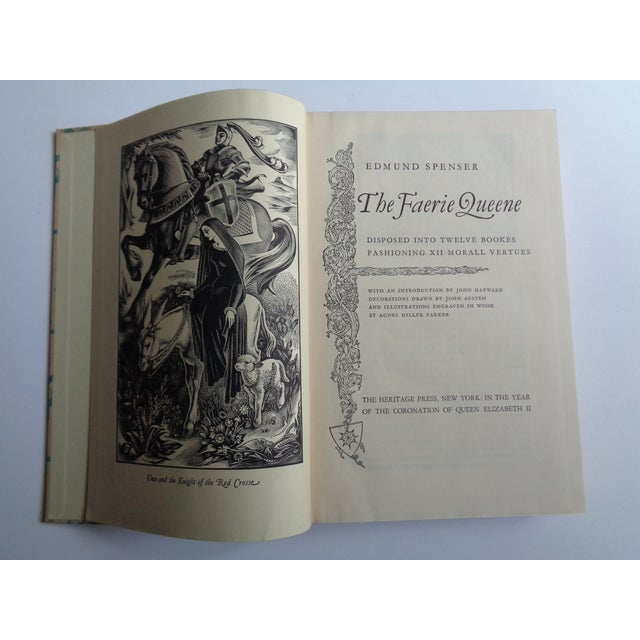 Illustration Vintage Coronation Edition of the Faerie Queene Book For Sale - Image 3 of 6
