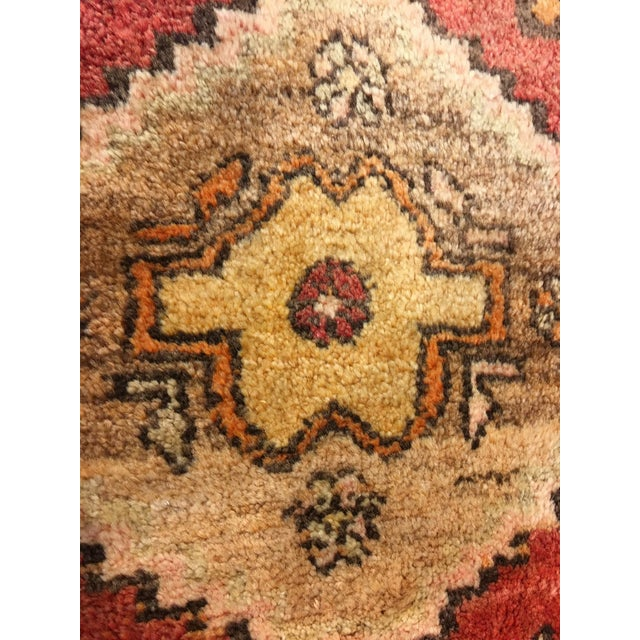 """Small Welcome Mat Size Vintage Turkish Anatolian Rug - 1'10""""x2'8"""" - Image 4 of 6"""