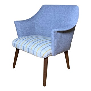 Danish 1960 Armchair, New Mood Nyc Upholstery For Sale