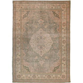 1930s Persian Large Sultanabad Persian Rug - 9′5″ × 13′5″ For Sale