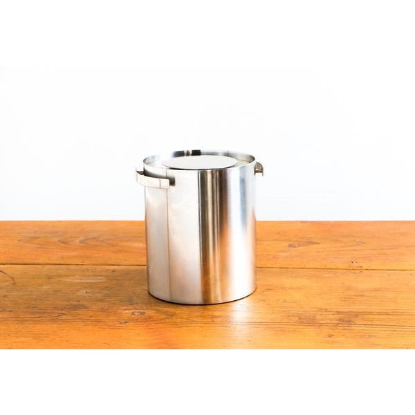 Vintage Arne Jacobsen for Stelton Stainless Steel Ice Bucket - Image 4 of 4