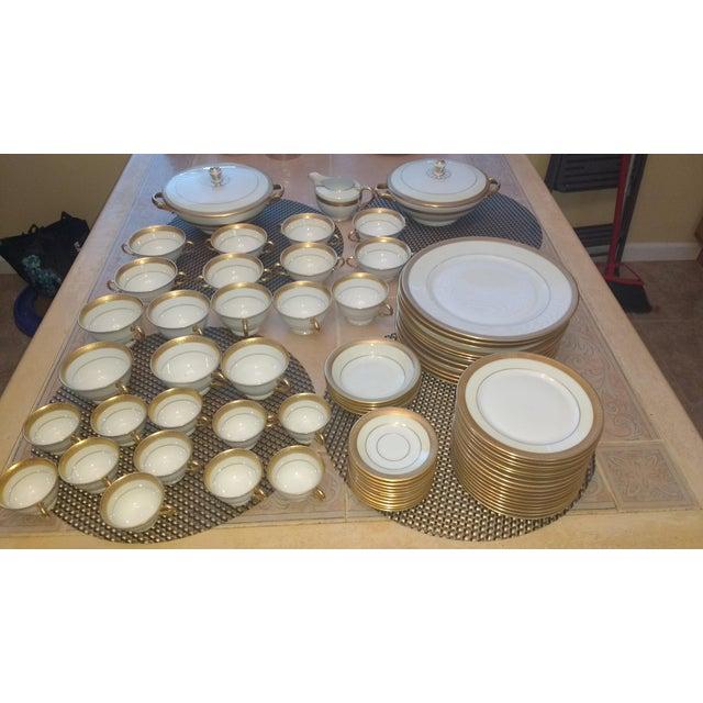 Fine Bone China Dish Set - 67 Pieces - Image 4 of 7