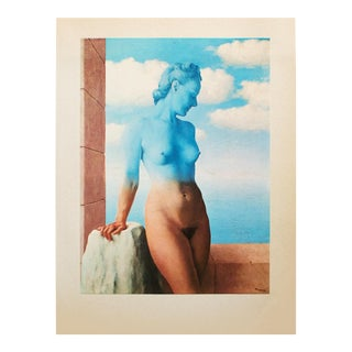 "1972 Rene Magritte, ""Black Magic"" Original Photogravure For Sale"