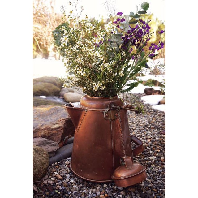 Antique Copper & Brass Kettle - Image 11 of 11