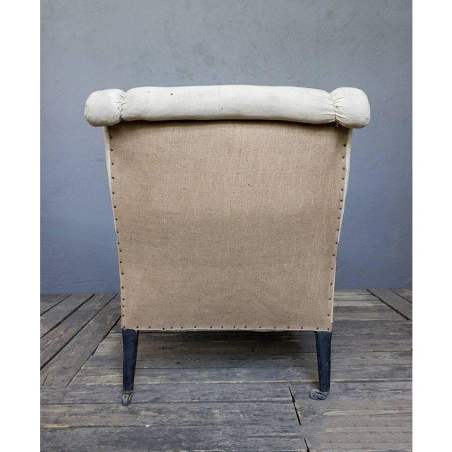 French 19th Century Chaise Longue With Scrolled Back - Image 3 of 8
