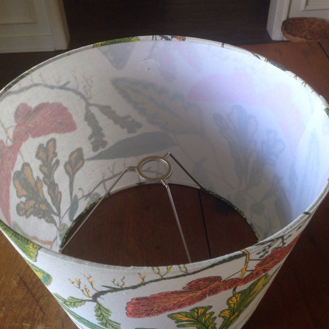 Vintage Botanical Print Lamp Shade For Sale - Image 9 of 11