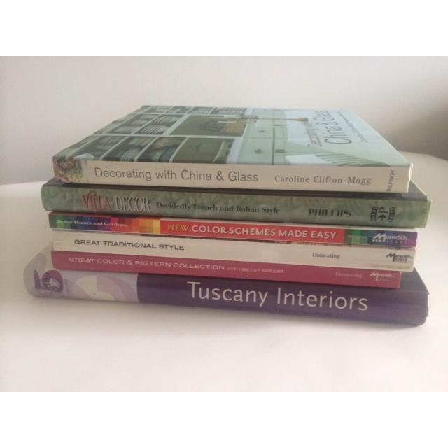 Italian Decorating Coffee Table Books - Set of 6 - Image 3 of 11