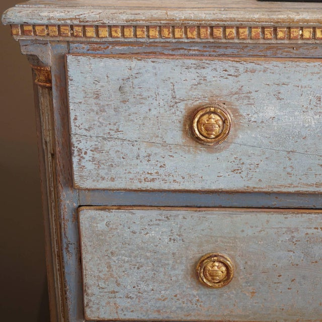 Neoclassical 19th Century Neoclassical Swedish Commode For Sale - Image 3 of 4