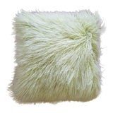 Image of 1980s Contemporary Mouton Sheep Fur Pillow For Sale
