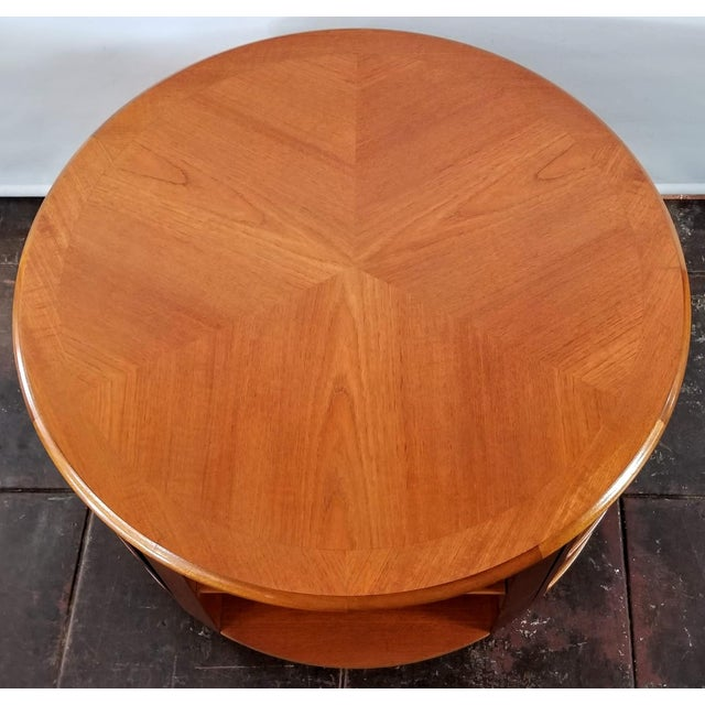 2000 - 2009 Mid Century Modern Man Cave /Bookcase/Bar / Storage Coffee Table By: Nathan For Sale - Image 5 of 13