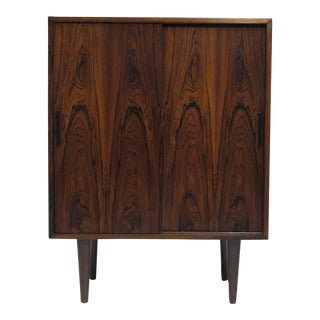 Small Rosewood Cabinet For Sale