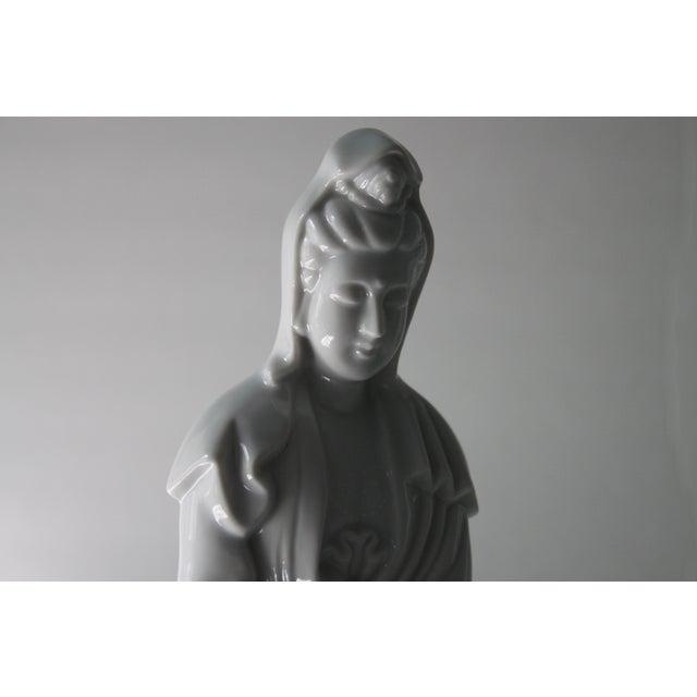 Blanc De Chine Goddess Statue - Image 6 of 6