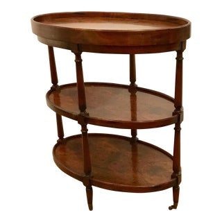 Henredon Chaunay Oval Side Table For Sale
