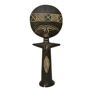 African Wood Fertility Figurine For Sale