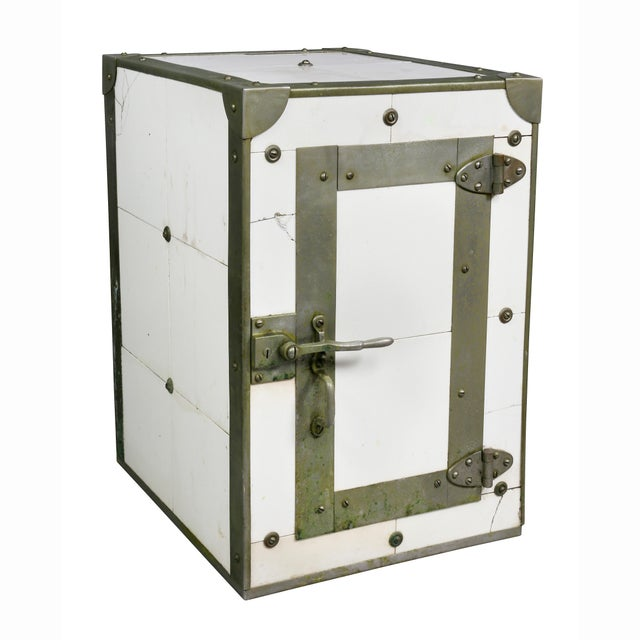 Cigar Humidor in the Form of Icebox For Sale - Image 11 of 11