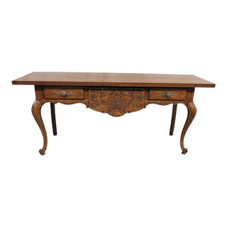 Drexel Bonaventure French Country Console Table For Sale