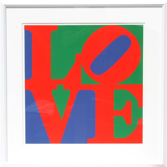 Robert Indiana, Classic Love, Serigraph - Image 1 of 2