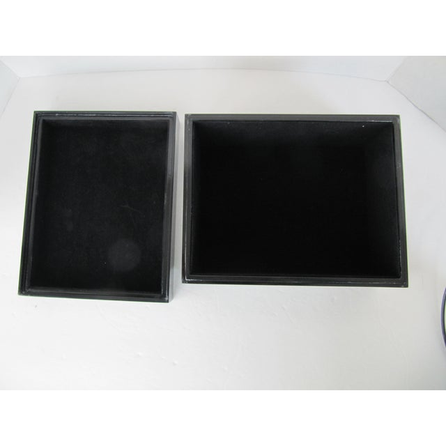 Minimalist Black Lacquer Box - Image 5 of 6