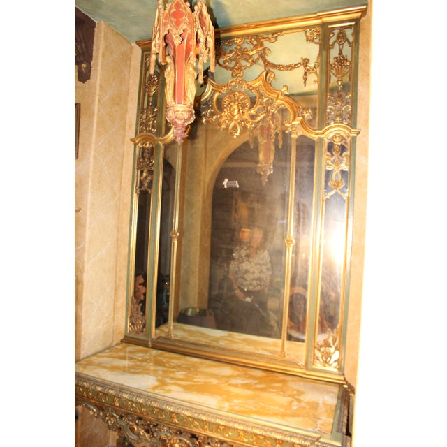 Late 19th Century Antique French Console Table For Sale - Image 11 of 12