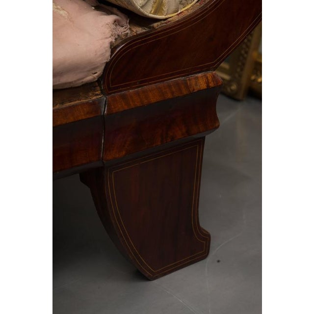 19th Century Mahogany Biedermeirer Sofa For Sale - Image 4 of 10