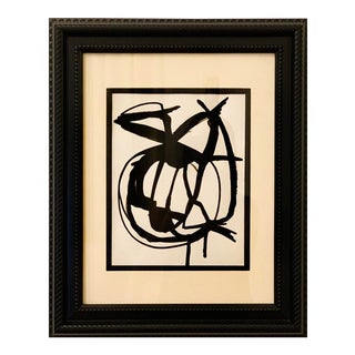 Framed Orignal Abstract Painting For Sale