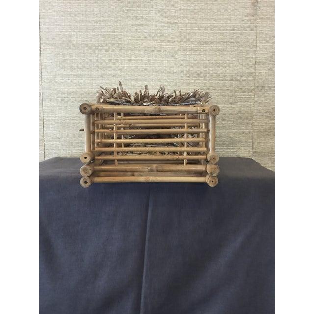 Bamboo Tiki Display Shelves - Image 8 of 9