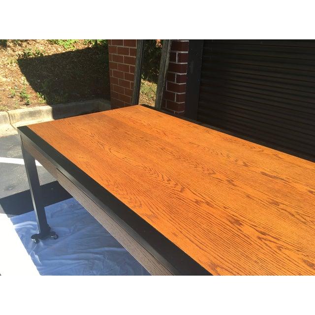 Harvey Probber Oak Desk For Sale - Image 9 of 13
